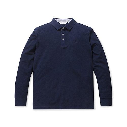 올젠 남성용 소프트 코튼 ST 카라 티셔츠 ZOA1TT1301