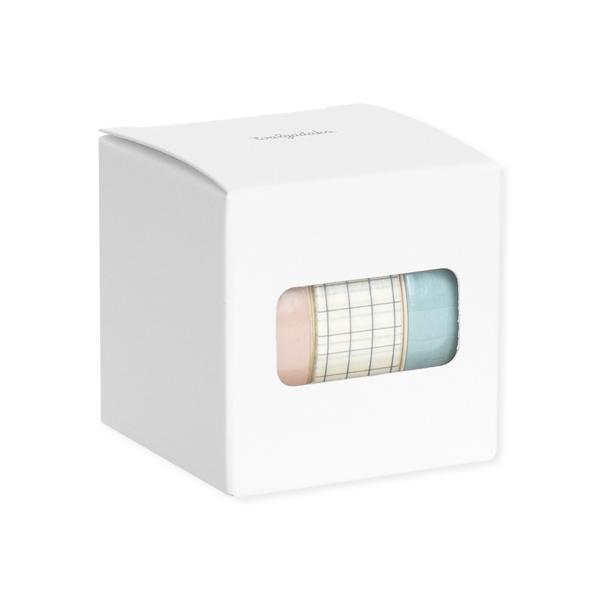 왈가닥스 아르떼 마스킹 테이프 플랜 15mm x 10m 3종 세트, Cotton candy, 1세트