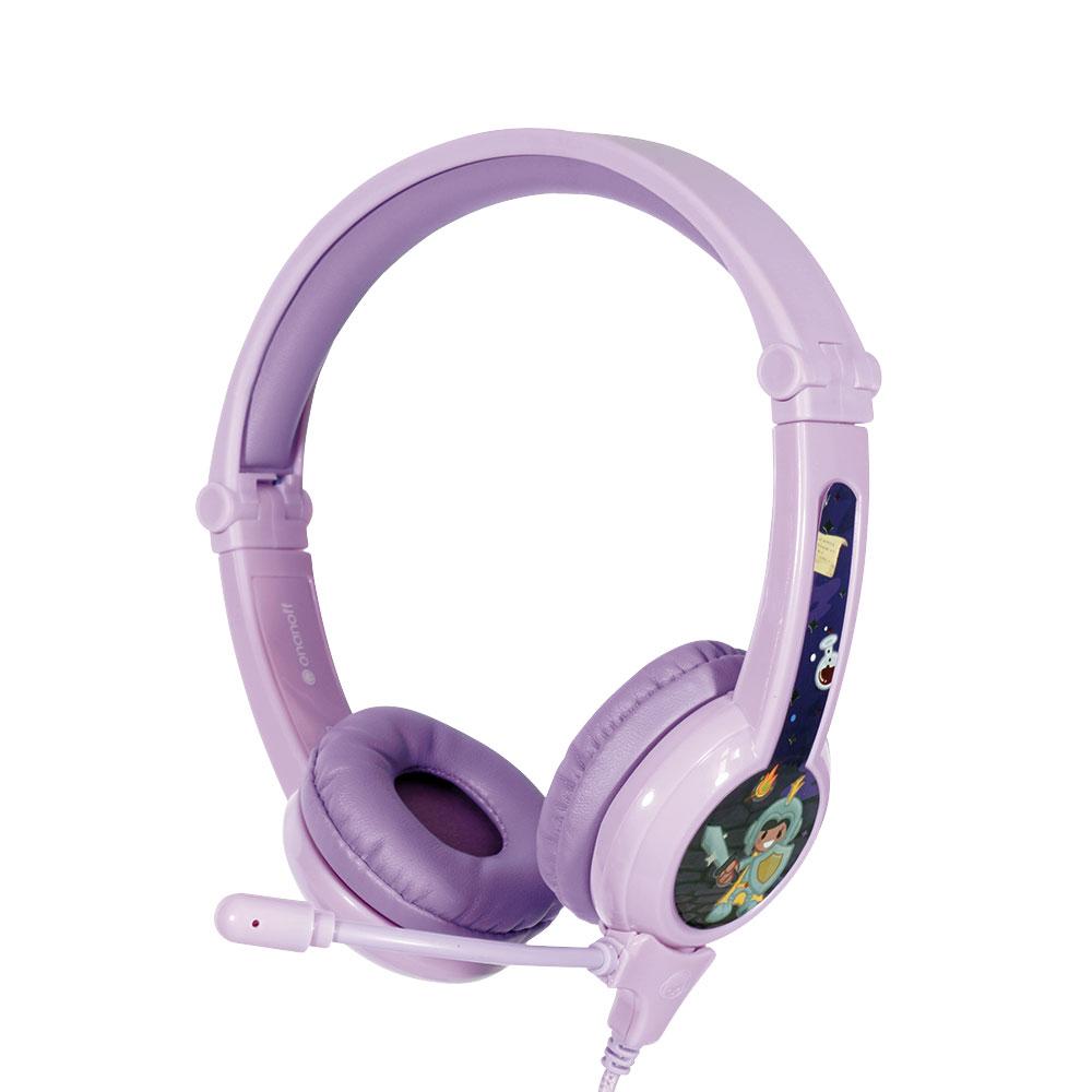 온앤오프 버디폰 갤럭시 어린이청력보호 어학용헤드셋, 단일 상품, 퍼플