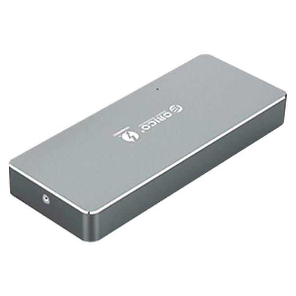 오리코 썬더볼트3 NVMe 외장하드 APM2T3-G40 + 케이블, 250GB, 그레이 (POP 1231355671)