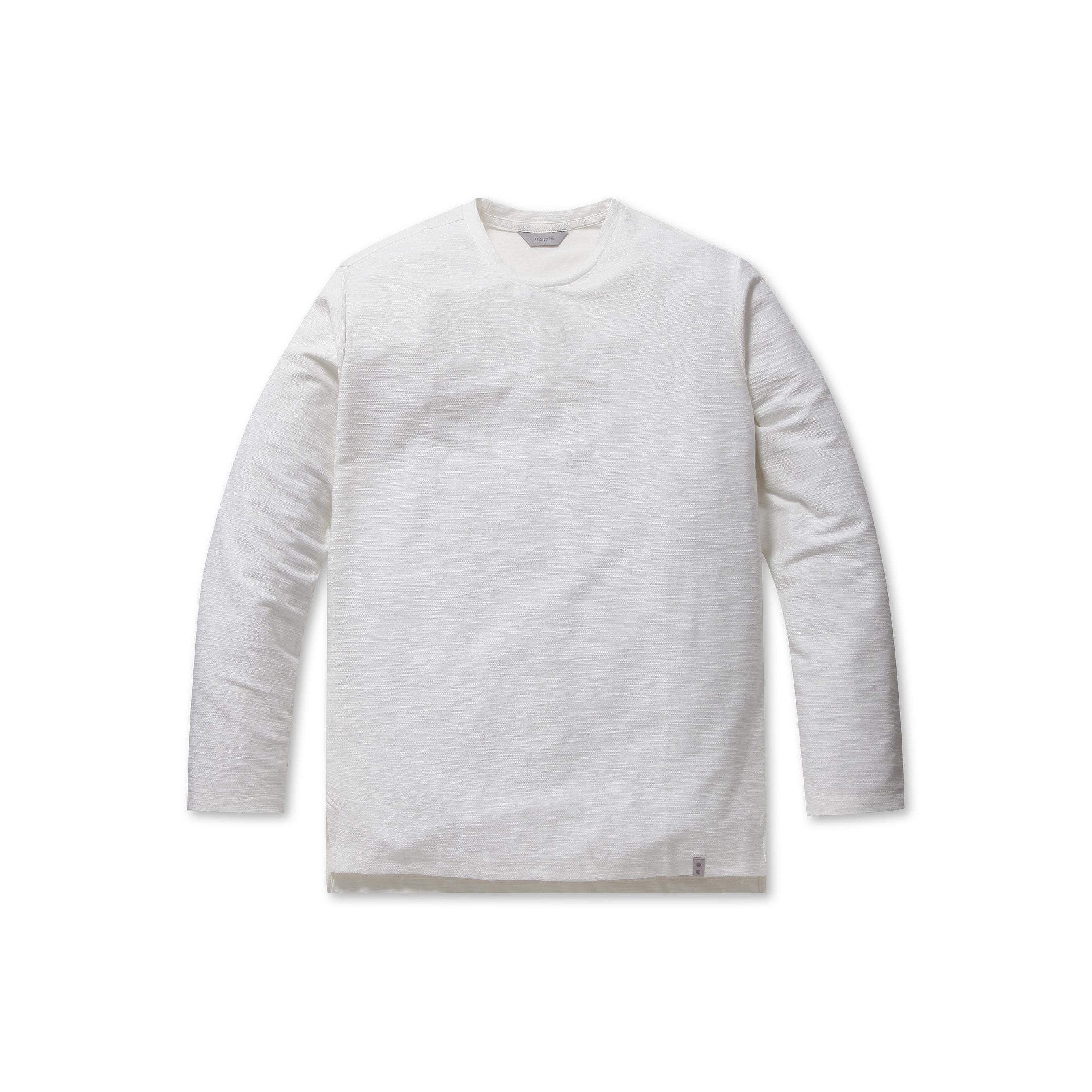 프로젝트엠 남성용 리버스테리 솔리드 라운드 티셔츠 EPA1TR1501