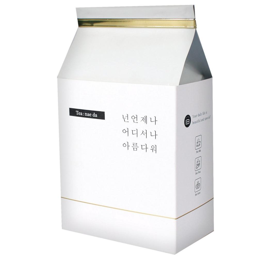 티내다 옥수수 티백망 호박팥차 삼각티백, 1.5g, 50개