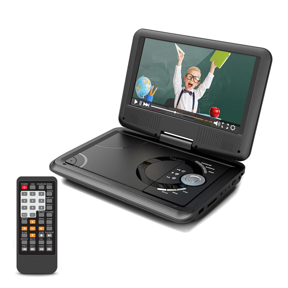 컴스 TV출력 지원 휴대용 모니터 DVD 플레이어 228mm, CJ740