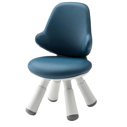 일룸 윙 키즈 인조가죽 의자, 블루