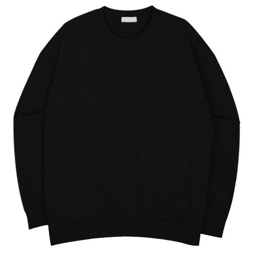 무지 오버핏 맨투맨 티셔츠