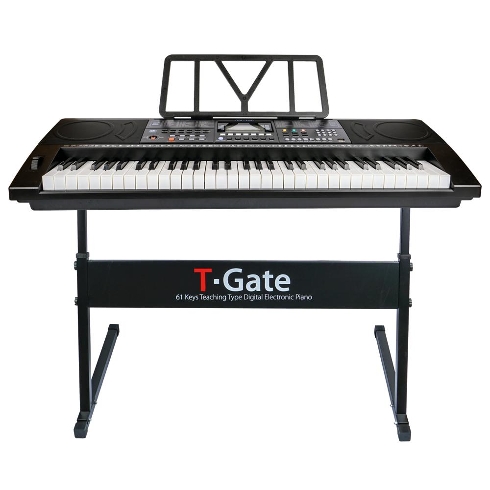 TGate 교습용 디지털 피아노 어드밴스 하드형 + 서스테인, 블랙