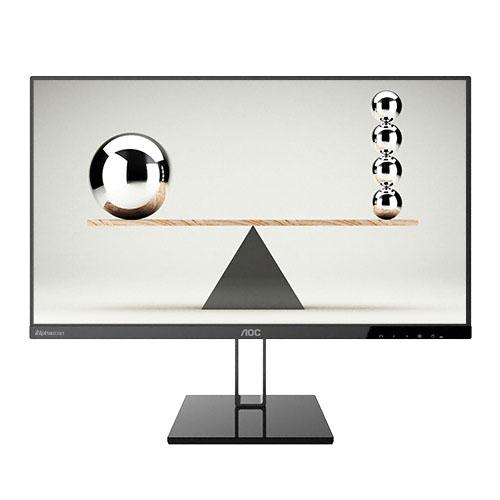 알파스캔 68.6cm FHD 프리싱크 75 DP시력보호 모니터 + DP 케이블, AOC 27V2Q(무결점)