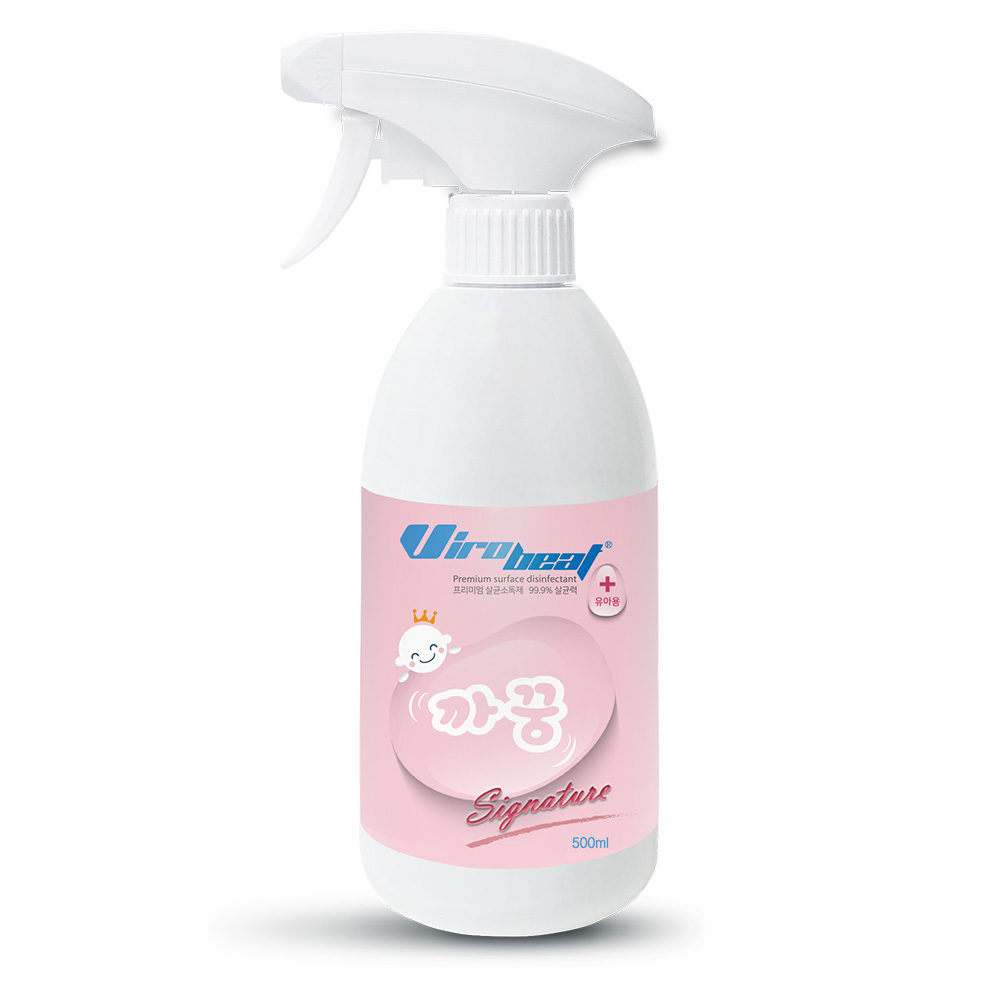 바이로비트 시그니처 유아용 살균소독제, 500ml, 1개