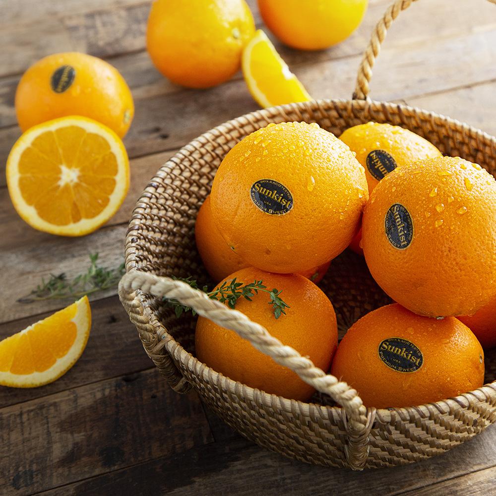 썬키스트 고당도 오렌지, 4kg(14~28입), 1개