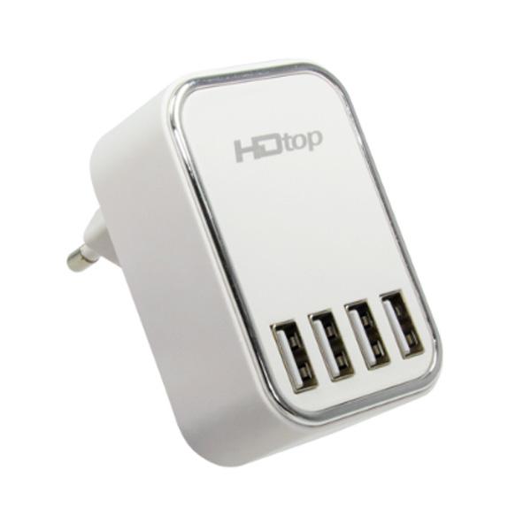 에이치디탑 4포트 DC 5V 4.5A 멀티 USB 충전 어댑터 HT-5V45