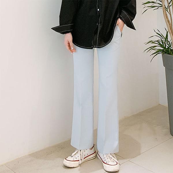오키진 여성용 프렌치 부츠컷 스판 슬랙스 165cm