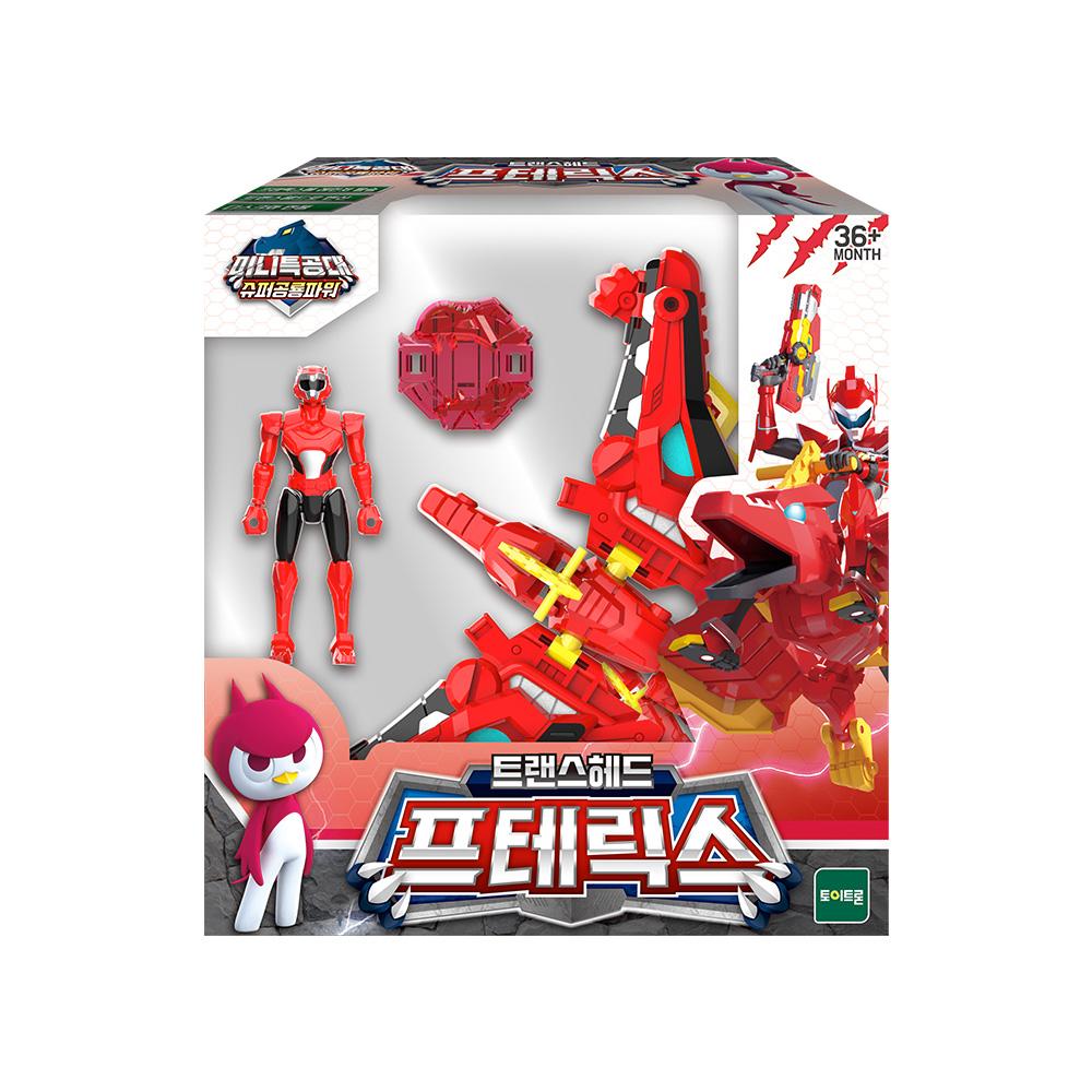 미니특공대 슈퍼공룡파워 프테릭스 로봇 장난감, 혼합색상