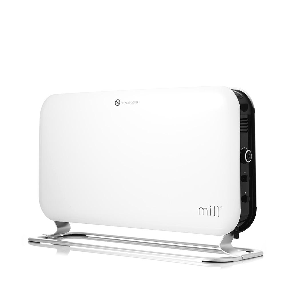 밀 타이머 LED 터보 스탠드 전용 전기 컨벡터 히터 온풍기, MILL1200E, 혼합색상