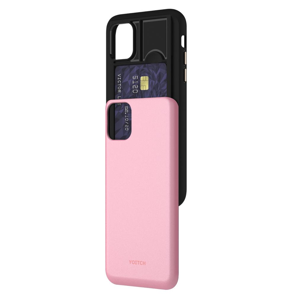 요이치 Pixie addon 카드수납 휴대폰 범퍼케이스