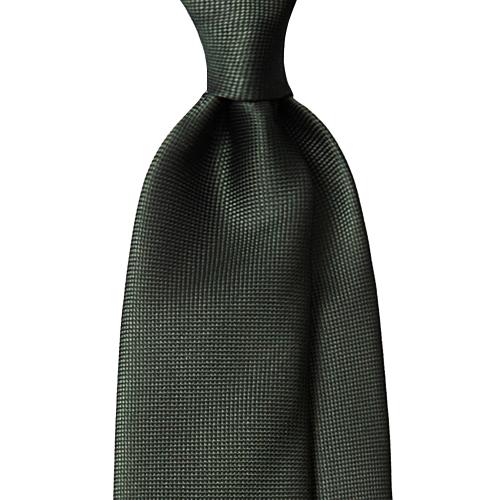 매너그램 실크 와플 솔리드 넥타이 그린 + 패키지 랜덤발송