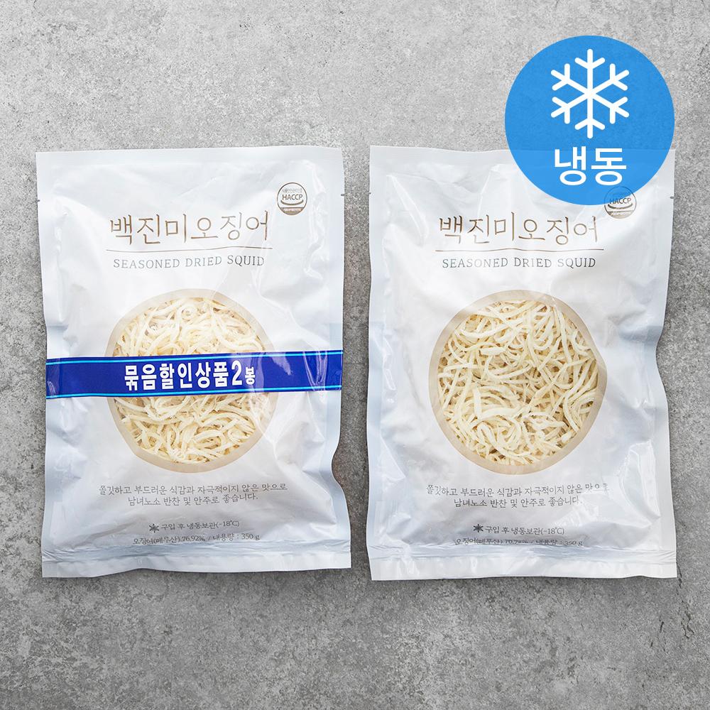 백진미 오징어 (냉동), 350g, 2봉