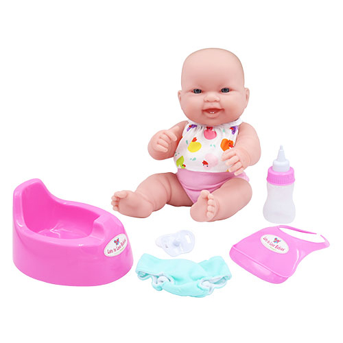 베렝구어 드링크앤웻 목욕놀이 아기인형 디럭스 16182, 웃는표정