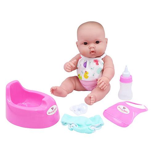 베렝구어 드링크앤웻 목욕놀이 아기인형 디럭스 16182, 무표정