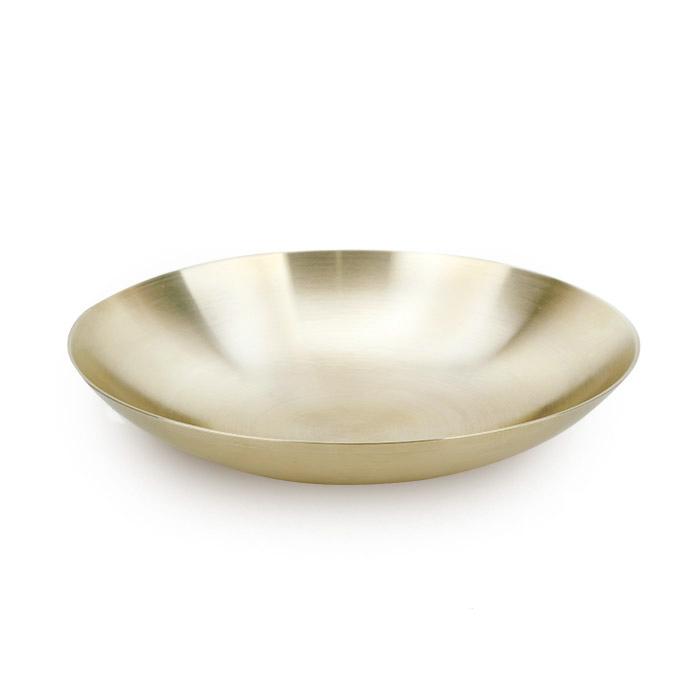 호담 방짜유기 오목 접시