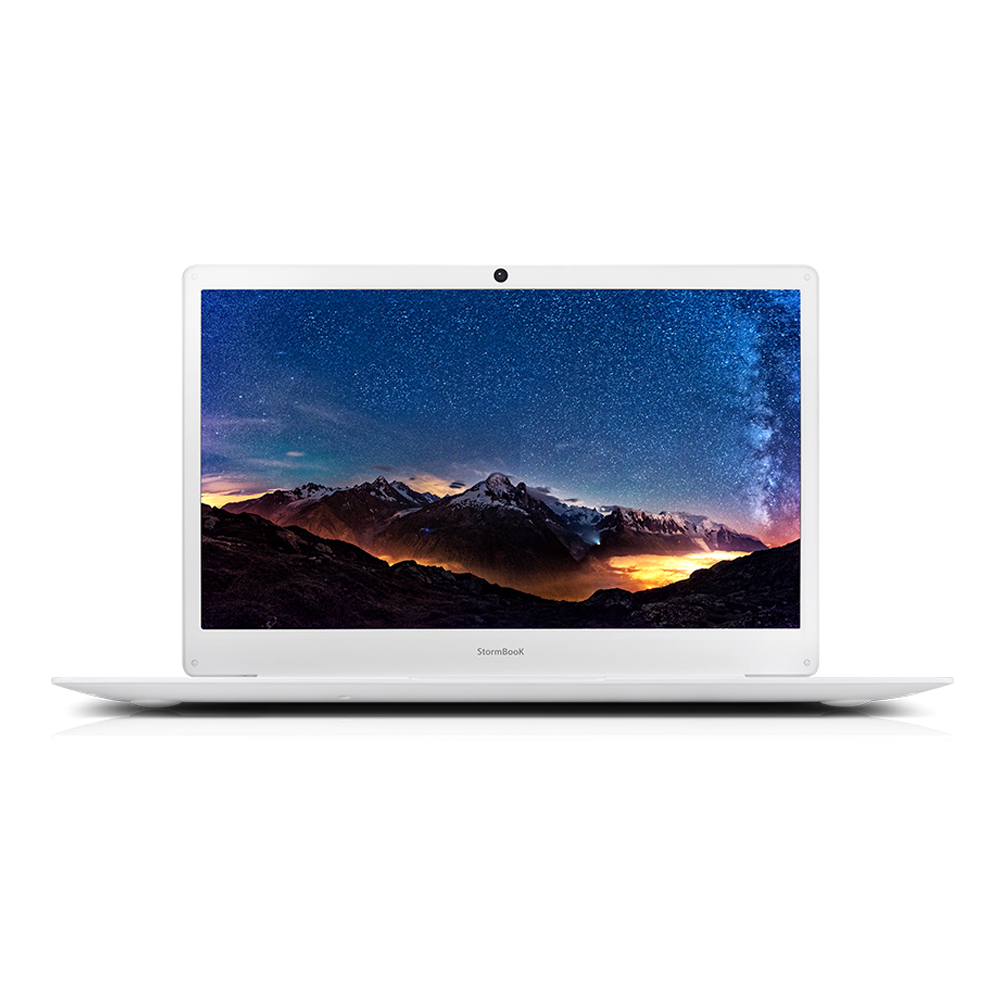 아이뮤즈 스톰북 14 노트북 (펜티엄-N3350 36cm WIN미포함 RAM 4GB 64GB), 미포함, 64GB