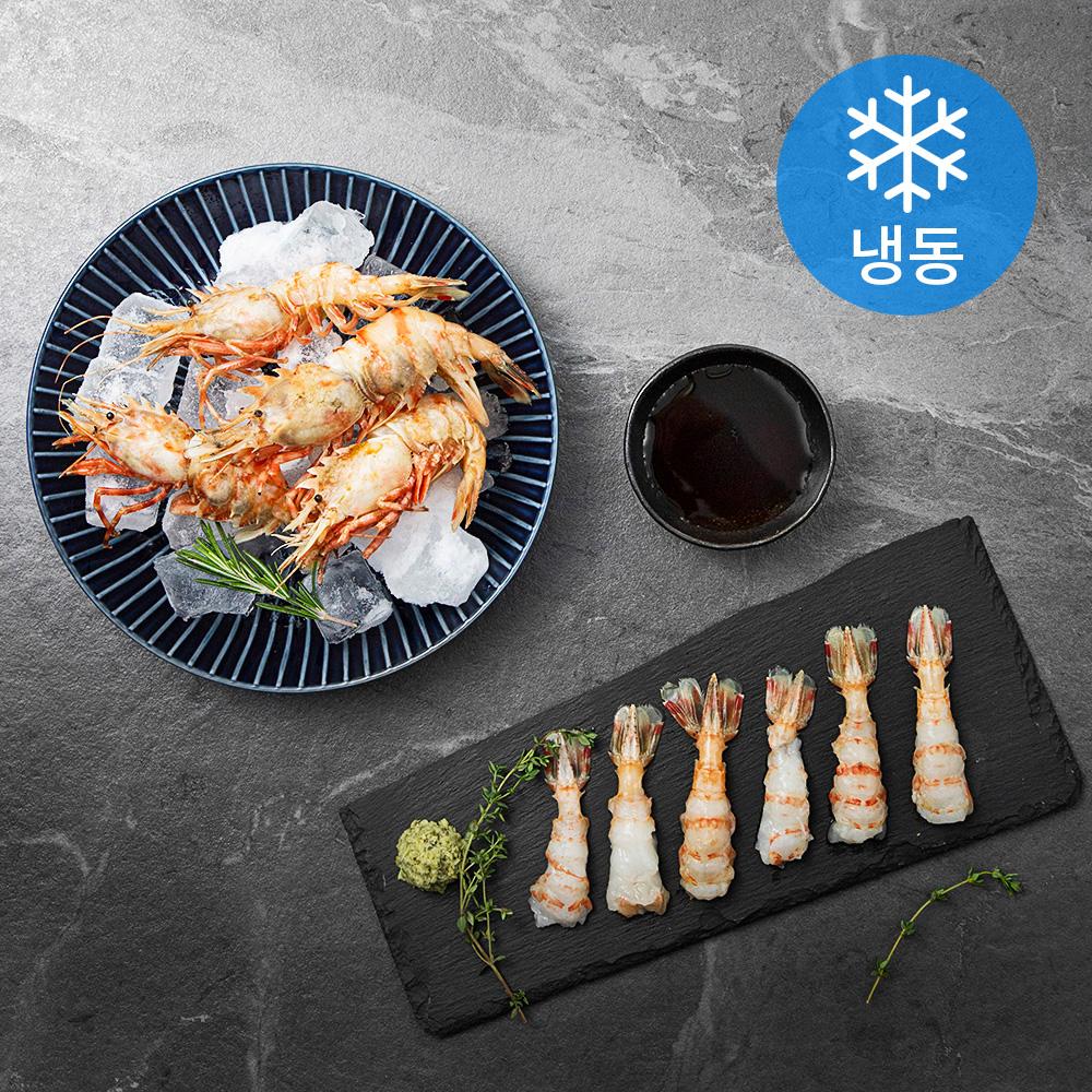 얌테이블 독도새우 닭새우 (냉동), 500g, 1팩