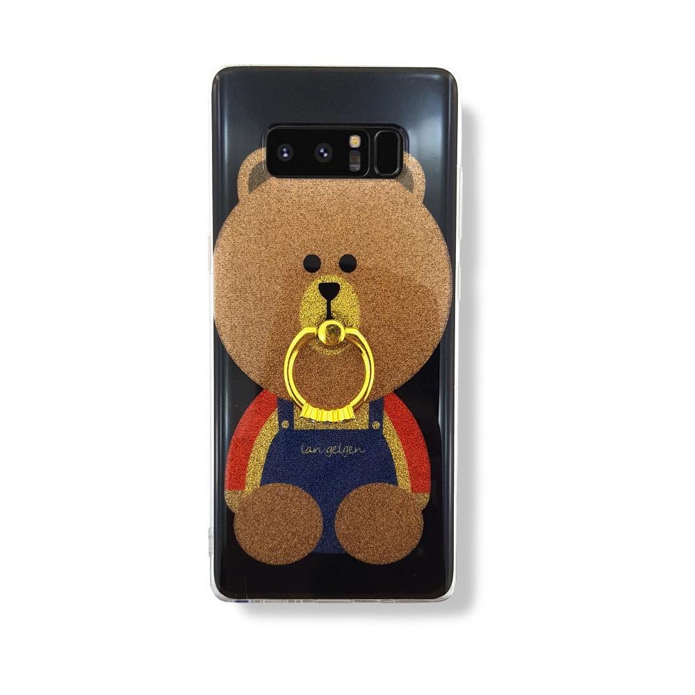 K cool 펄 베어 링고리 스마트폰 케이스