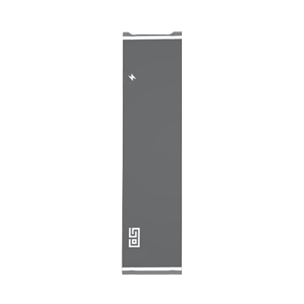 SO 애플 맥북 프로 USB C 타입 HDMI 젠더 카드리더기 멀티 충전 허브 DH2, 스페이스그레이
