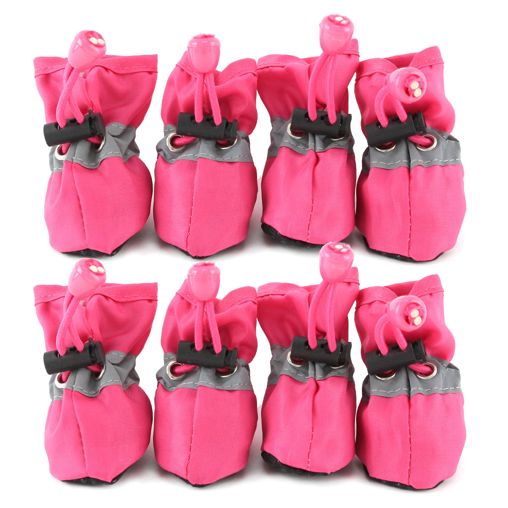도그아이 강아지 편안한 신발 2세트, 핑크