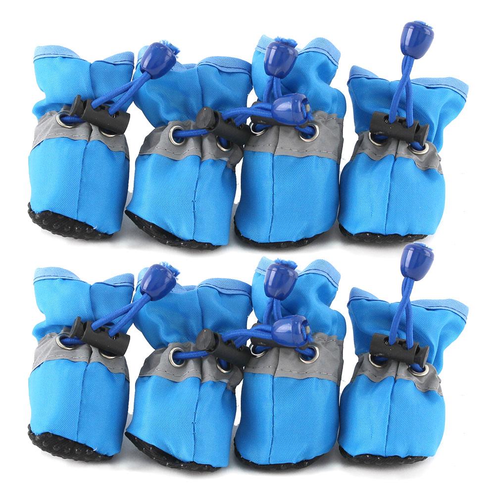 도그아이 강아지 편안한 신발 2세트, 파랑
