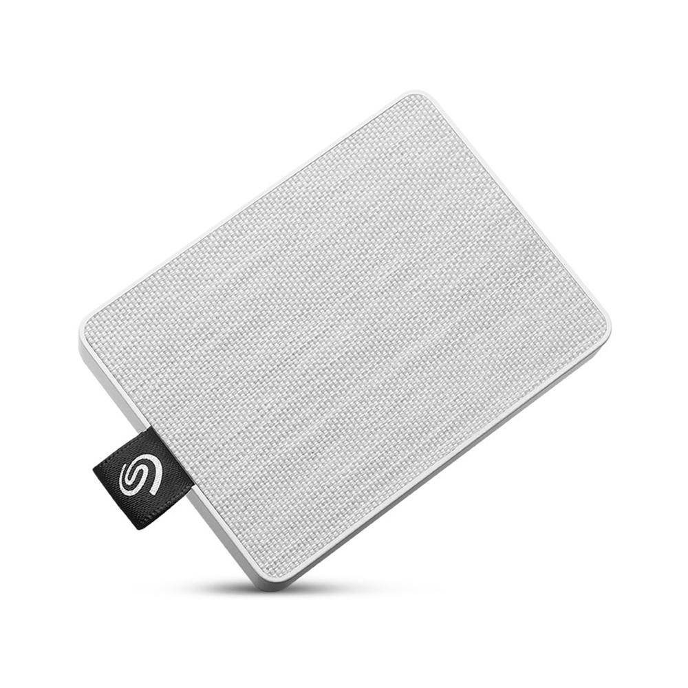 씨게이트 원 터치 외장 SSD STJE500402, 500GB, 화이트