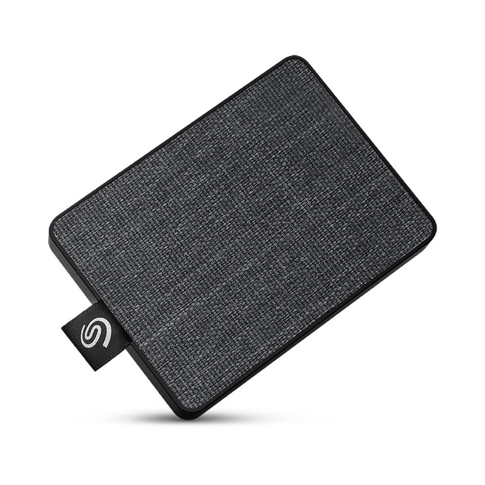 씨게이트 원 터치 외장 SSD STJE500400, 500GB, 블랙