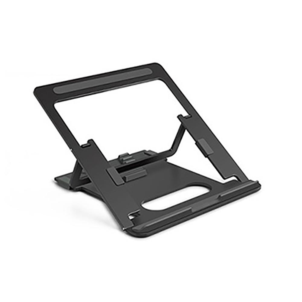 애니클리어 프리미엄 알루미늄 노트북 맥북 거치대 받침대 AP-10 + 파우치, 티타늄