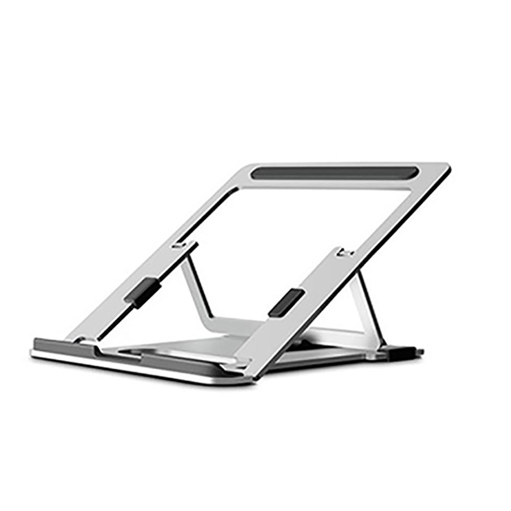 애니클리어 프리미엄 알루미늄 노트북 맥북 거치대 받침대 AP-10 + 파우치, 실버