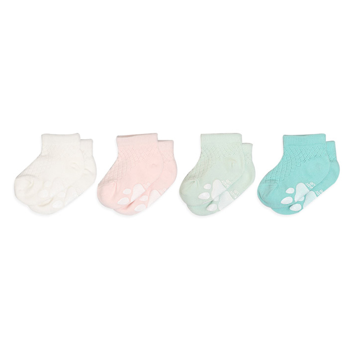 하이베이비클럽 매쉬 아기 발목 양말 4종 세트