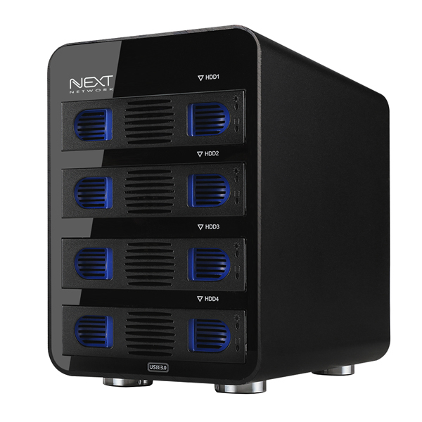 넥스트 Raid USB3.0 4Bay 데이터스토리지 NEXT-804U3 RAID