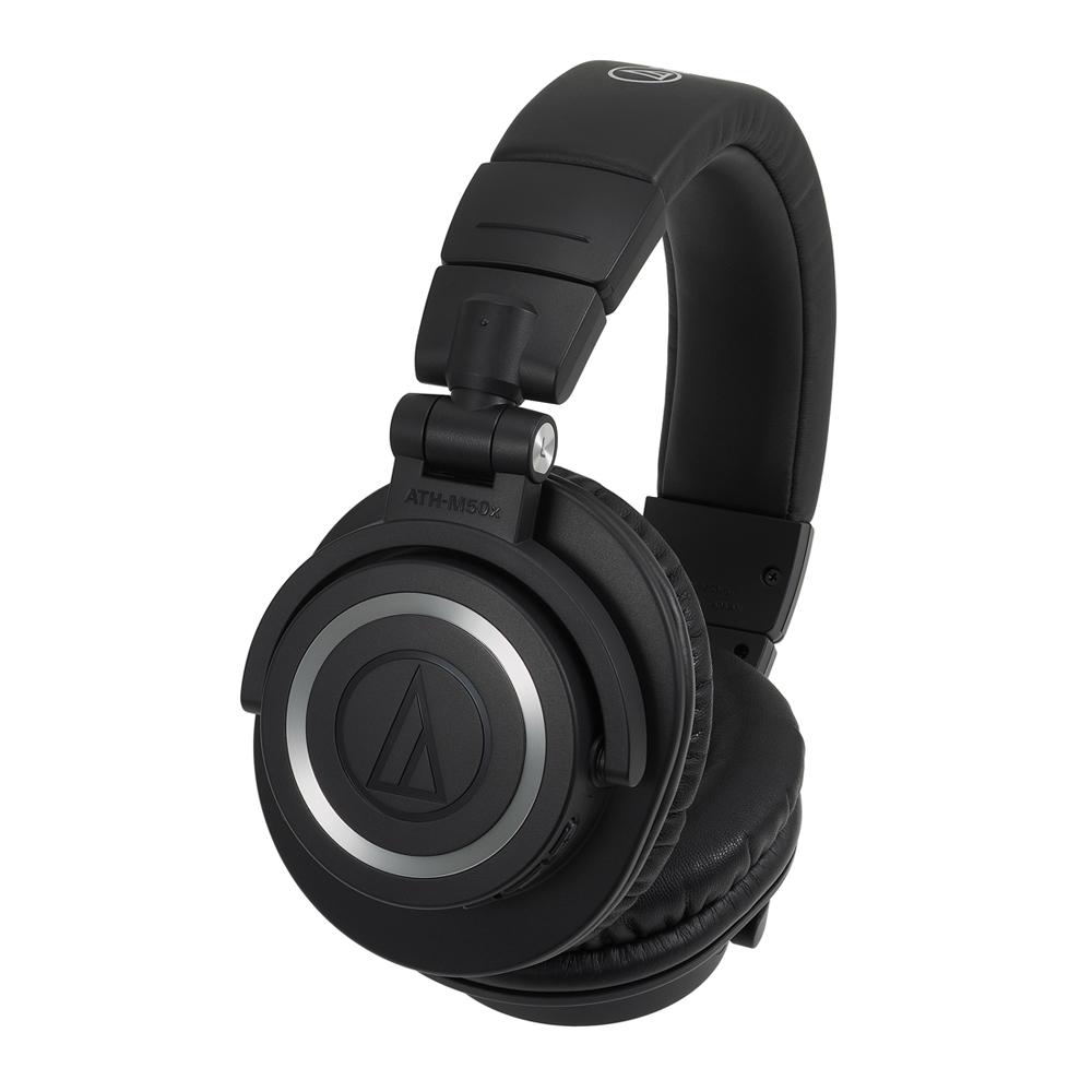 오디오테크니카 무선 블루투스 모니터링 헤드폰, ATH-M50xBT, 혼합색상