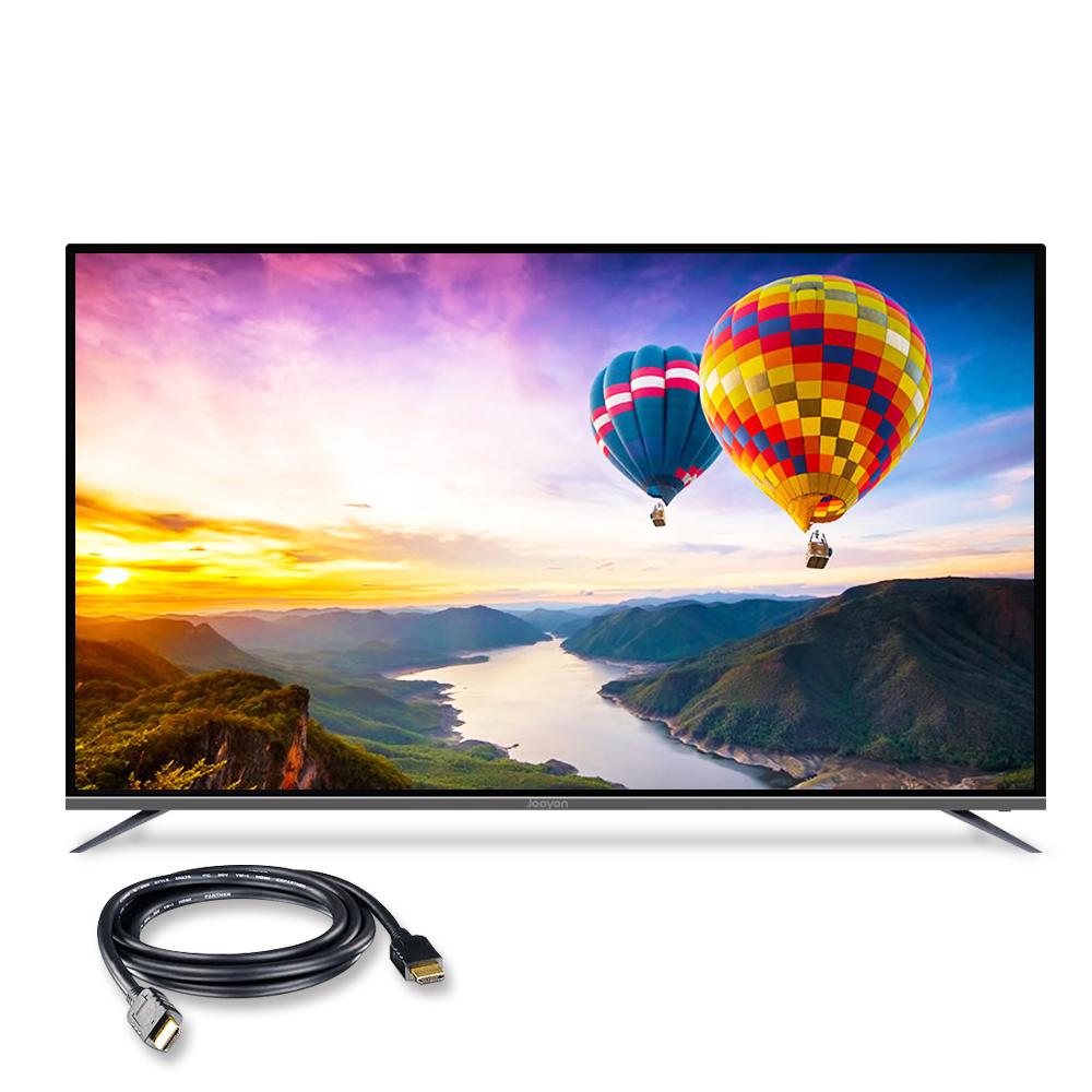 주연전자 UHD HDR 189cm 스마트 TV JYE-DS750U 무결점 + HDMI 케이블, 벽걸이형, 방문설치