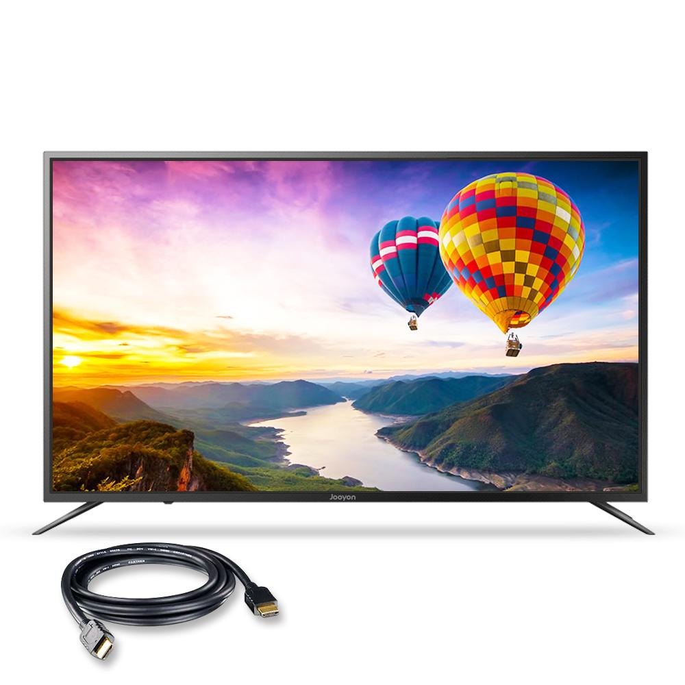 주연전자 UHD HDR 139cm smart TV JYE-DS550U 무결점 + HDMI 케이블, 스탠드형, 방문설치