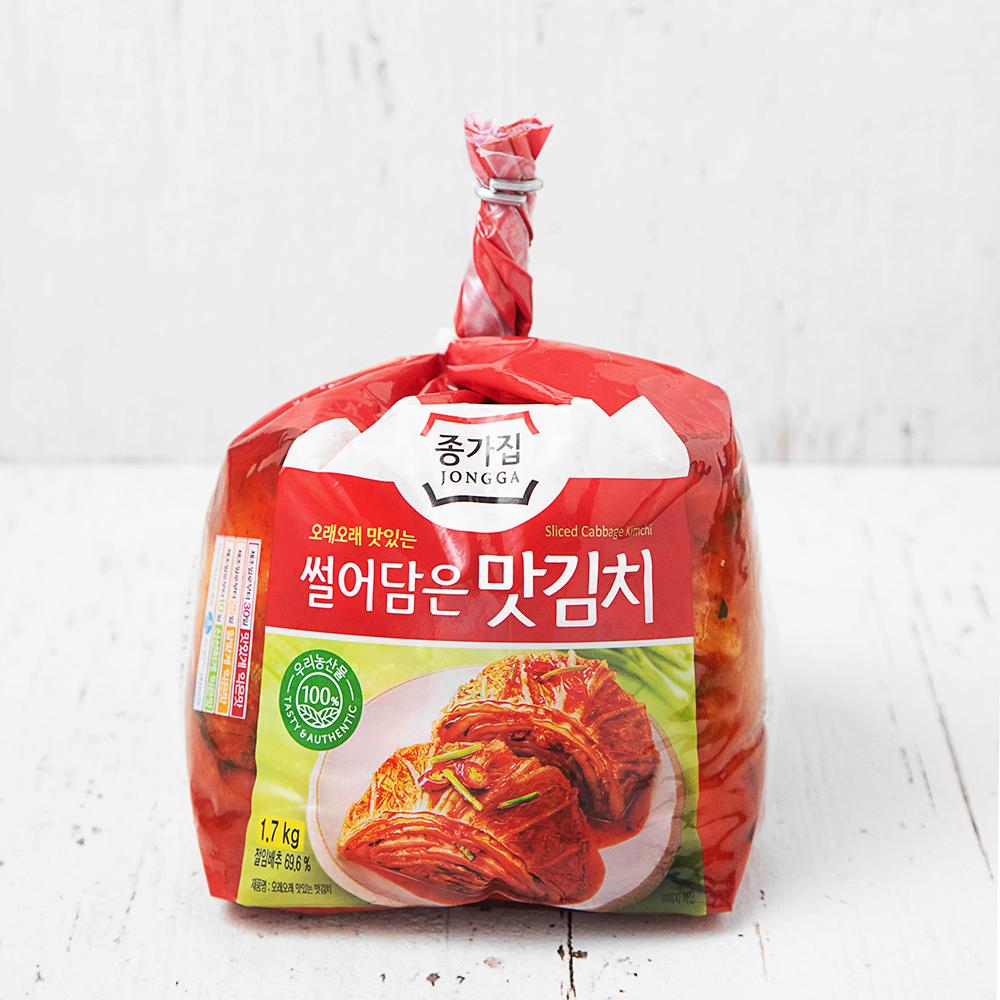 종가집 썰어담은 맛김치, 1.7kg, 1봉
