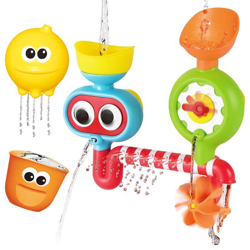 레츠토이 빙글빙글 유아 목욕놀이 장난감 다이버, 랜덤발송