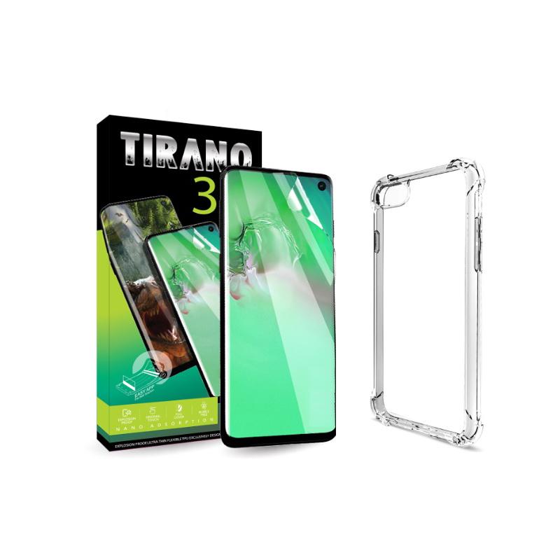 티라노 셀프힐링 갤럭시 풀커버 자가복원 액정보호필름 2p + 방탄캡슐젤리, 1세트