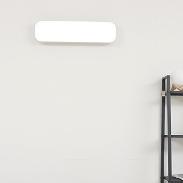 조명에반하다 LED 심플 욕실등 30W, 화이트
