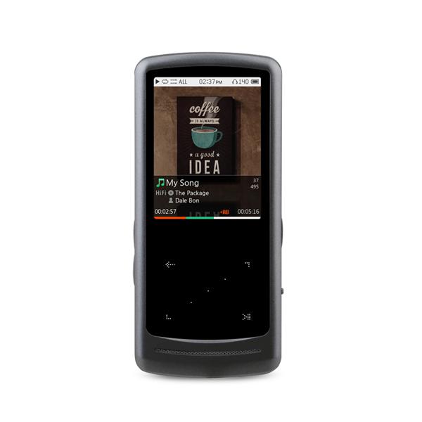코원 아이오디오 DAP HiFi 멀티미디어 플레이어 64GB, iAUDIO HiFi, 메탈실버