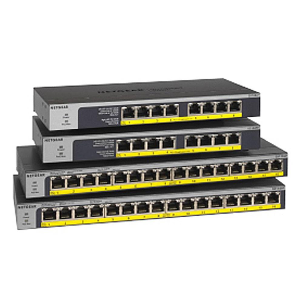 넷기어 16포트 스위칭허브 1000Mbps PoE+ GS116LP