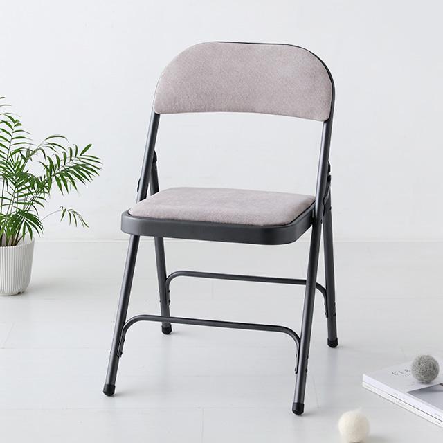 마켓비 ZIANY 접이식 의자 DT92, 다크베이지