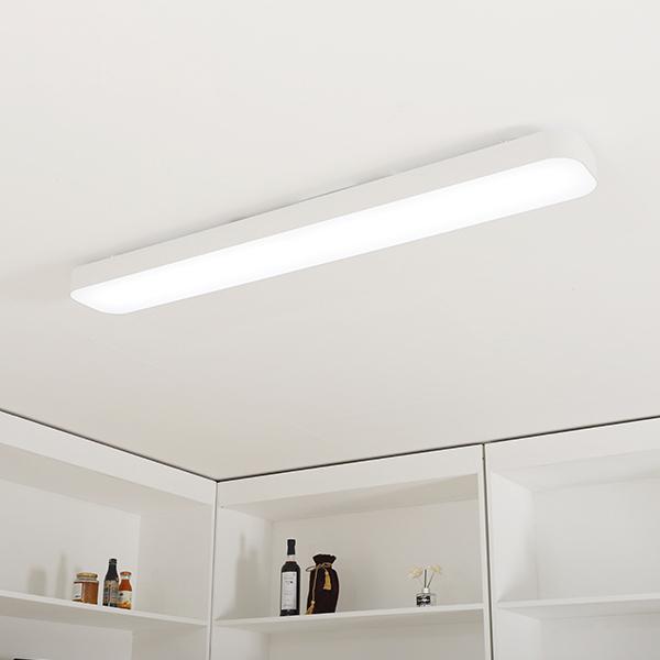 조명에반하다 LIGHTING EVER LED 심플주방등 60W, 화이트