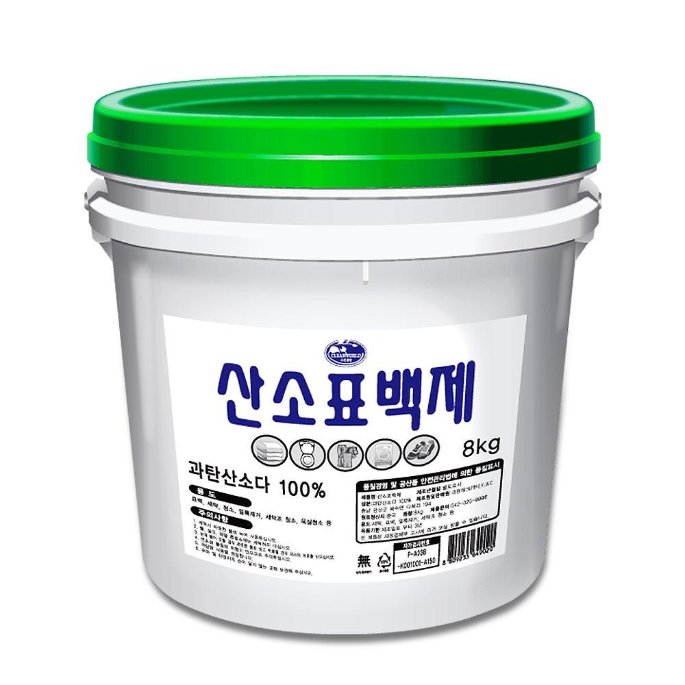 과탄산소다 산소계 표백제, 8kg, 1개