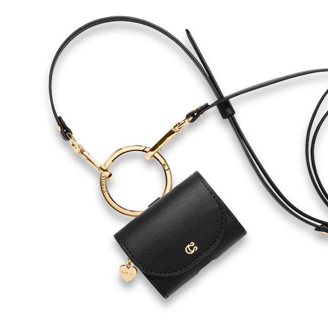 씨릴 에어팟프로 케이스 미니백 클래식 레더, ASD00437, 블랙-6-1274904360