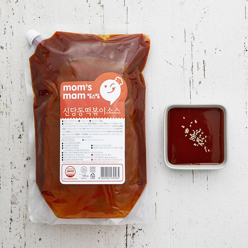 맘스맘 신당동 떡볶이소스, 2kg, 1개