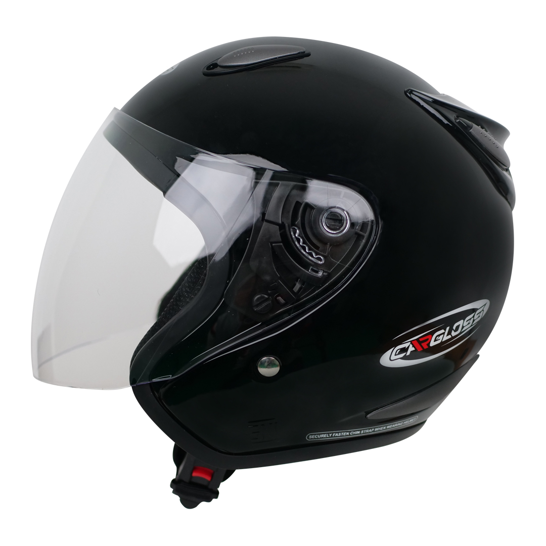 쿤타치 오토바이 헬멧, 솔리드블랙